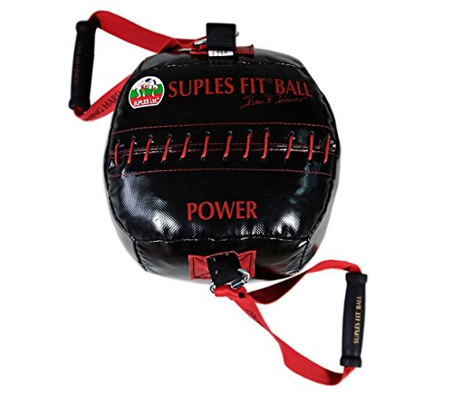 Suples Ball - 22lbs (POWER) (Fitness, Crossfit, Wrestling, Judo, Grappling, Functional Training, MMA, Sandbag, Core, Medicine Ball) by Suples Fit Ball