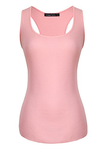 Pink Tank Top Shirt - 1