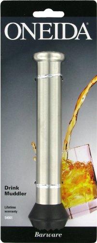 Oneida 6 1/2-Inch Muddler, Stainless Steel by Oneida