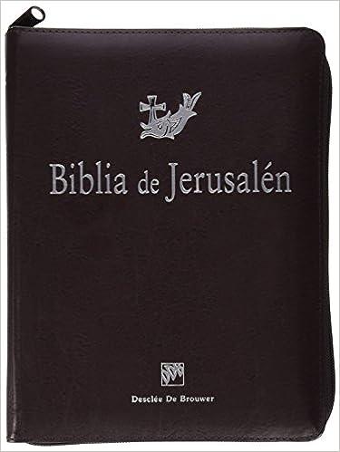 3d48d21773e Biblia De Jerusalen 4ª Man 3 Cremallera Biblia de Jerusalén  Amazon.es  Escuela  Biblica De Jerusalen  Libros