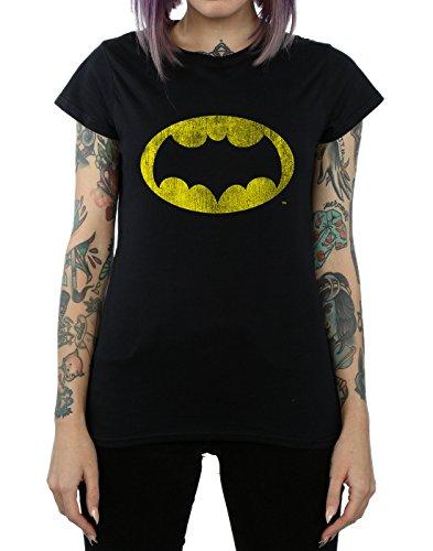 Logo Distressed Series T Comics Noir Femme Batman Dc shirt Tv HqwxUXY0I