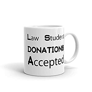 Law Student Cofee Cup Gift Idea for Attorney Lawyer