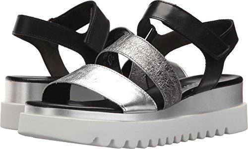 Gabor Women's 83.610 Black/Silver Lamina/Crash/Foular for sale  Delivered anywhere in USA