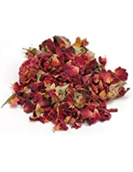 Rose Buds, Dried Red Rose Petals, 3 oz (86 grams) (Approx. 4 Cups) Dried Flowers, DIY Bath Bombs, Soap Making, Candle Making, Potpourri, Sachets