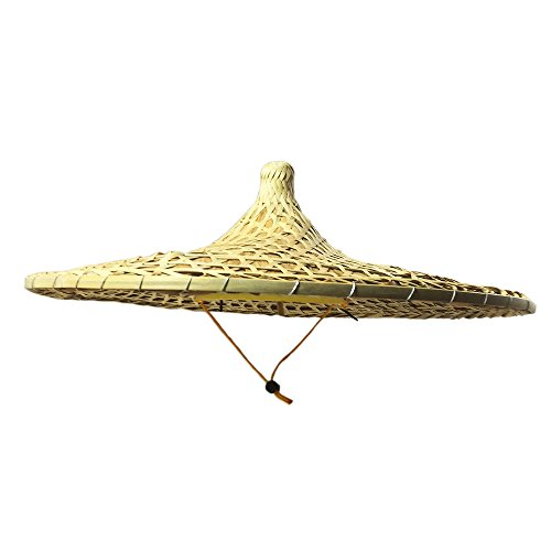 Sunny Hill China Guangdong Local Characteristics Hand-Woven Large Conical Hats Sun Hat 21 Inch -