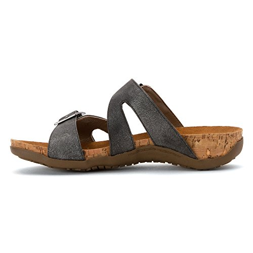Maddie Us M 11 Donne Carbone Sandalo Bearpaw Di Sintetico YAwqwOEa