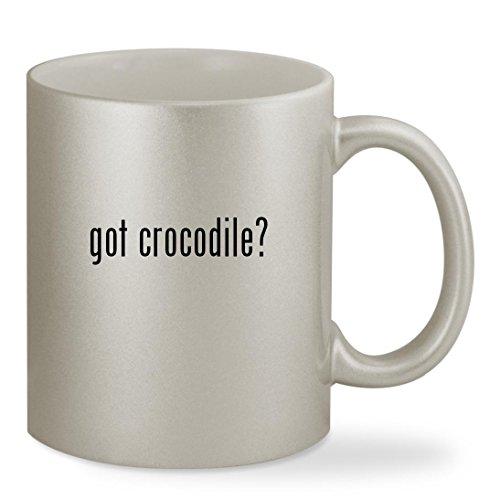 got crocodile? - 11oz Silver Sturdy Ceramic Coffee Cup (The Enormous Crocodile Costume)