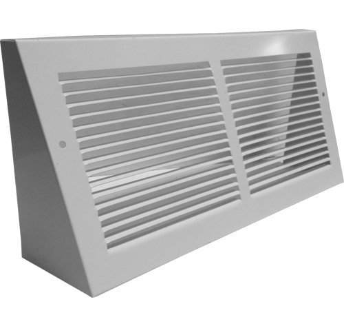 - Triangular Extended Baseboard Return Grill (12