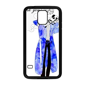 Blue guitar gentleman Cell Phone Case for Samsung Galaxy S5