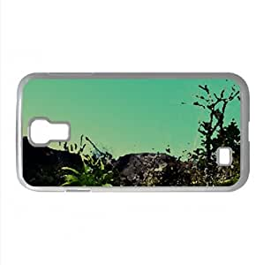 Mountain Top Watercolor style Cover Samsung Galaxy S4 I9500 Case (Mountains Watercolor style Cover Samsung Galaxy S4 I9500 Case) by icecream design