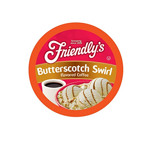 Friendly's Coffee Pods for Keurig K Cup Brewers, Butterscotch Swirl, ()