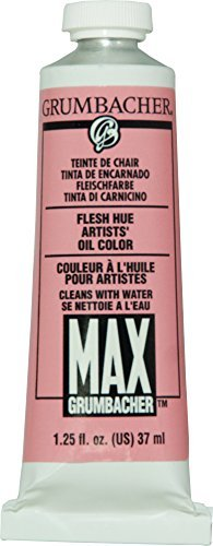 Grumbacher Max Water Miscible Oil Paint, 37ml/1.25 oz, Flesh Hue by ()