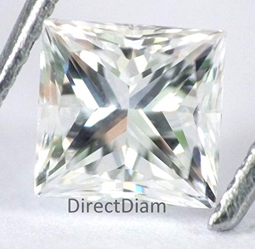 1.02 Ct IGI Certified Loose Princess Diamond, Natural E Color VS1 Real Diamond For Ring 100% Natural