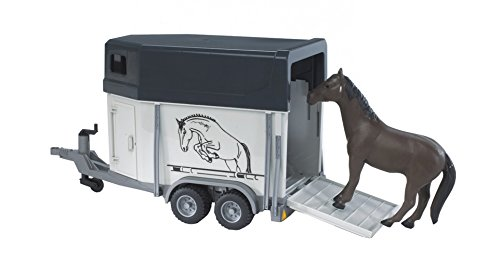 Horse trailer including 1 horse (Bruder Horse Trailer compare prices)