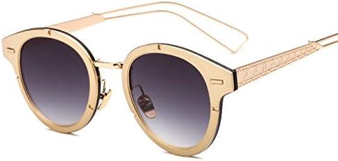LXKMTYJ Gafas de sol de metal elegante caja pequeña ...