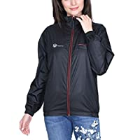 VERSATYL Jacket for Girls/Women Ladies Casual Jackets Wind Cheater Winter Wear Jackets in Black, Blue and Grey Colour (S-XXXL)