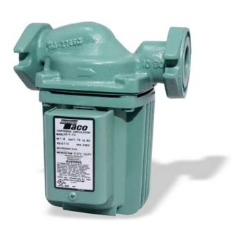 Taco 0011-F4 1/8-HP Cast Iron Cartridge Circulating Pump