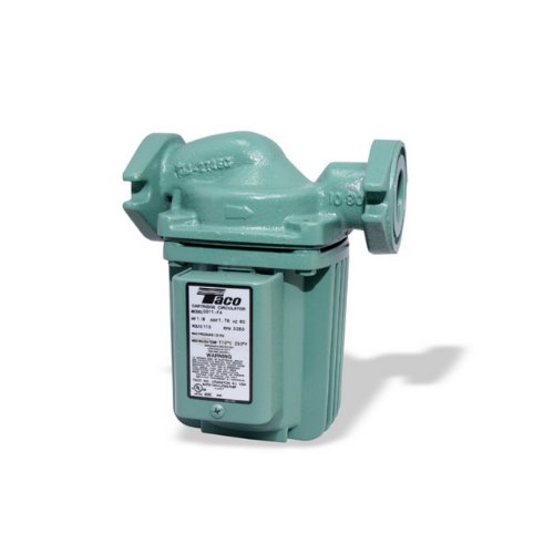 Circulator Pump Cast Iron (Taco 0011-F4 1/8-HP Cast Iron Cartridge Circulating Pump)