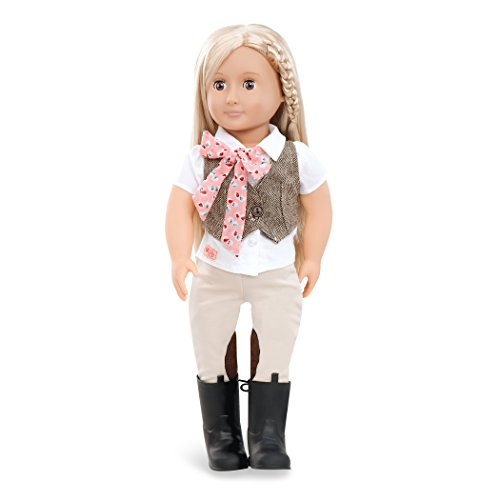 "Our Generation Dolls Leah 18"" Horse Riding Doll"
