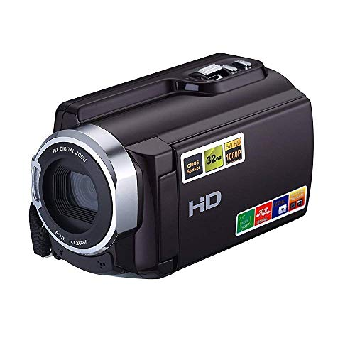Camcorder, KINGEAR HDV-5053 1080P WiFi Digital Video Camera Infrared Night Vision Camcorder (Black)