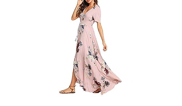 Seringlings Verano Moda para Mujer Vestido Degradado para ...