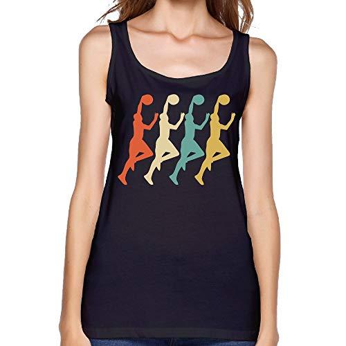 Women's Retro Basketball Pop Art Sexy Comfy Shirt Summer Blank Tank Top by COSJIg8