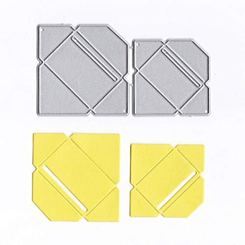 Cutting Dies Christmas,Envelope Paper Metal Cutting Dies Card Making Scrapbooking Stencils Album Paper Card Craft Embossing DIY Decorative -