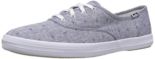 Keds+Women%27s+Champion+Doby+Daisy+Fashion+Sneaker%2C+Blue%2C+8.5+M+US