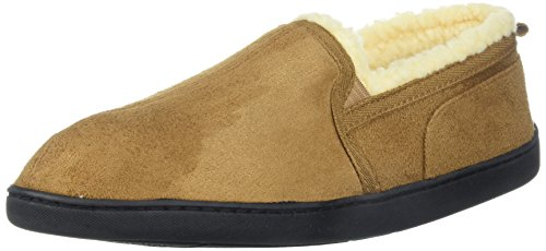 Image of Gold Toe Mens Moccasin House Shoes,Indoor Outdoor Bedroom Slippers for Men,Memory Foam