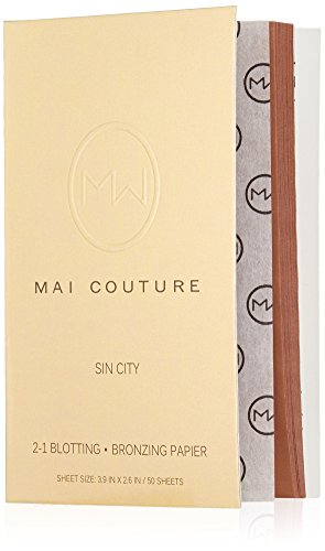 Mai Couture 2-1 Blotting and Bronzing Papier, Sin City