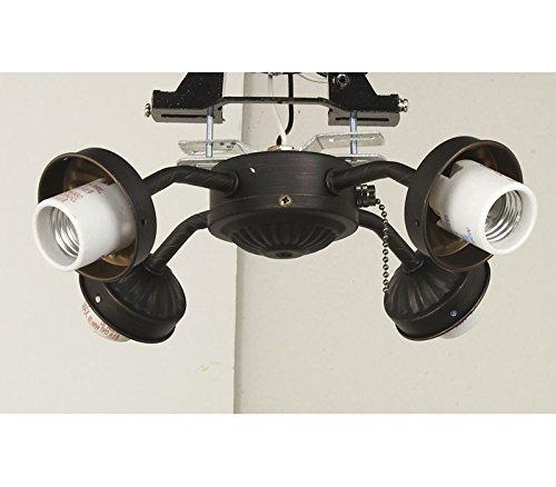 aged bronze ceiling fan - 7