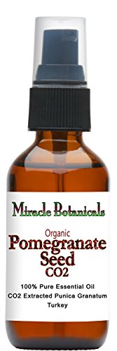Miracle Botanicals Organic Pomegranate Seed Oil Co2 Extra...