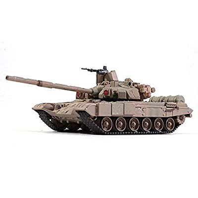 T-90 Vladimir Russian Main Battle Tank 1992 Year 1/72 Scale Diecast Model: Toys & Games