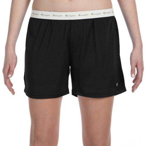 Women's Active 5' Mesh Short,Black,X-Large