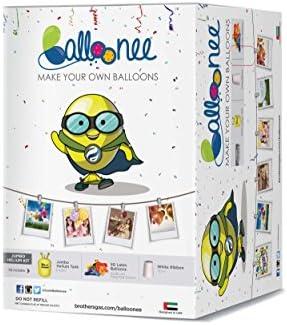 Balloonee Jumbo Disposable Helium Party Kit: Amazon com: FLYSOFT