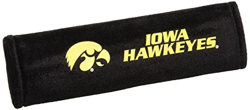 Fremont Die NCAA Iowa Hawkeyes Seat Belt Pads, One Size -