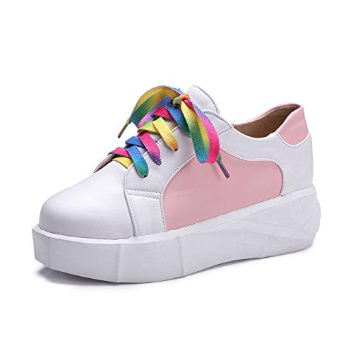 calzado casual/Moda señora shoes/Estudiante suela gruesa sneakers B