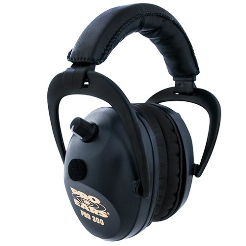 Pro Ears - Pro 300 - Electronic Hearing Protection and Amplification - NRR 26 - Ear  Muffs - Black