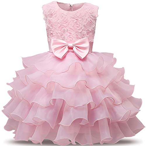 Flower Girl Wedding Gown Dress for Baby Clothing