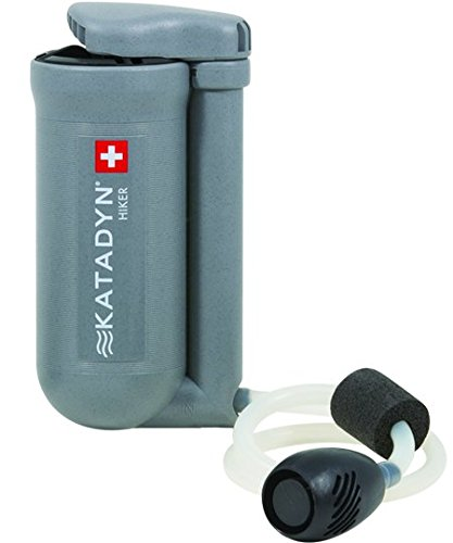 Katadyn Hiker Water Filter, Lightweight, Compact Design for