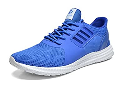DREAM PAIRS Men's 160821-M Royal White Athletic Running Shoes Sneakers - 6.5 M US