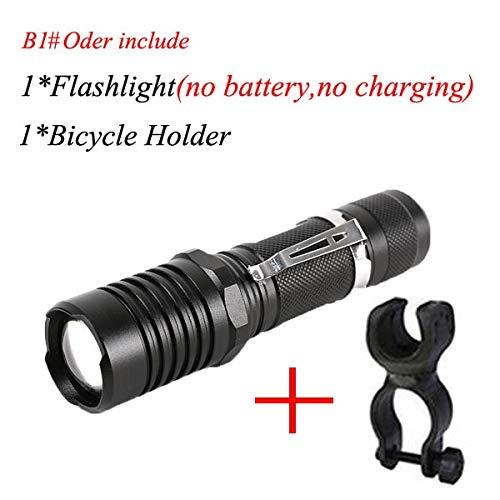 Strong Zoom Tactical Led Flashlight Adjustable 3*Cree XML T6 10000 Lumen 18650'