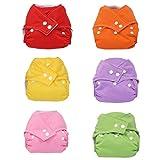 7 Pcs Baby Infant Adjustable Reusable Cloth Diaper - Best Reviews Guide