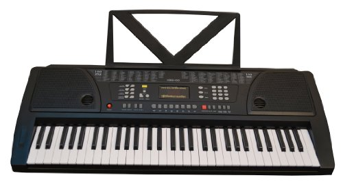 Huntington KB61 61-Key Portable Electronic Keyboard Black
