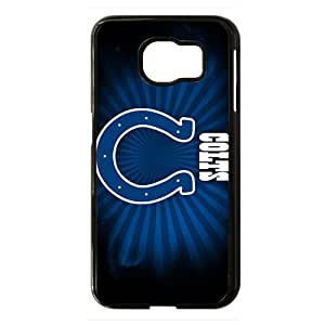 Indianapolis Colts Phone Case for Samsung Galaxy S6 Black