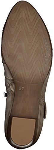 Marco Tozzi Mujeres Zapatos de tacón beige, (PEPPER ANTIC) 2-2-24417-24-335