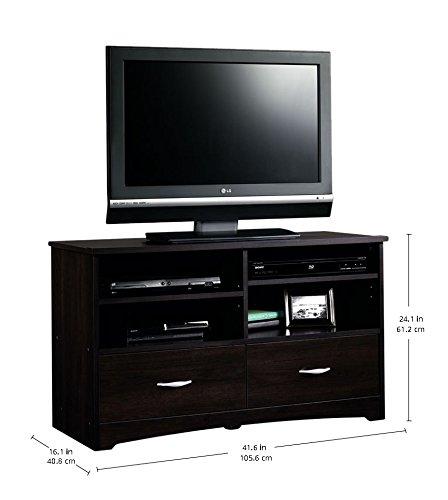 042666111478 - Sauder Beginnings TV Stand with Drawers, Cinnamon Cherry carousel main 0