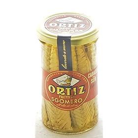 ORTIZ Mackerel In Olive Oil, 250 GR