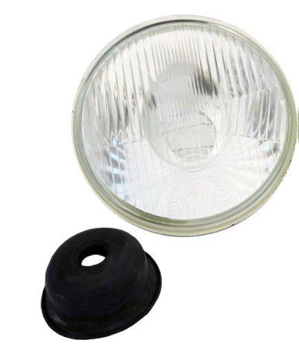 7 Inch Round Motorcycle Headlights Semi-Sealed Beam H6014 H6024
