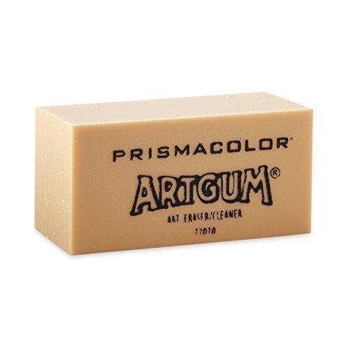 Prismacolor Design ArtGum Erasers, Beige,(73030) (4-Pack of 12)